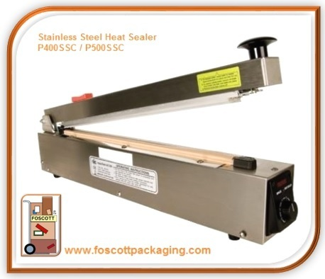 Stainless Steel Heat Sealer P500SSC