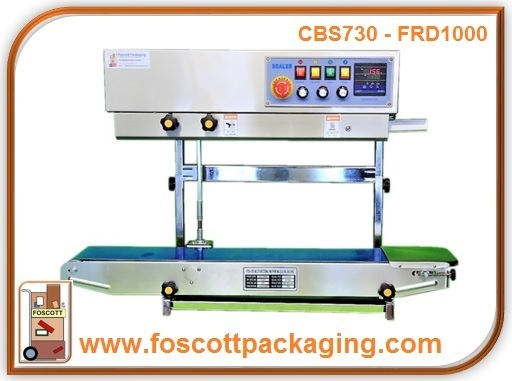 CBS730iDS1 Rotary Band Sealer, FRD-1000