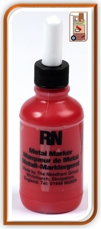 Metal Marker  Red 4066R