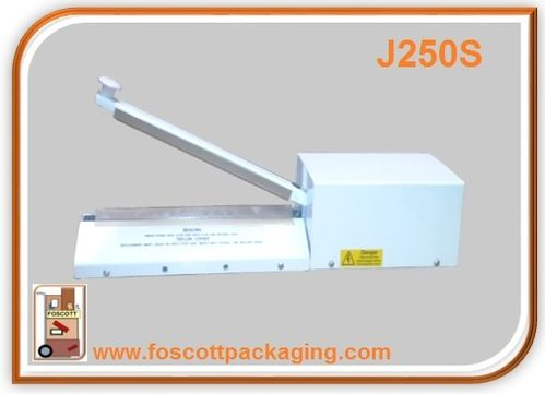 J250S  JAW HEAT SEALER WICKETED 250mm