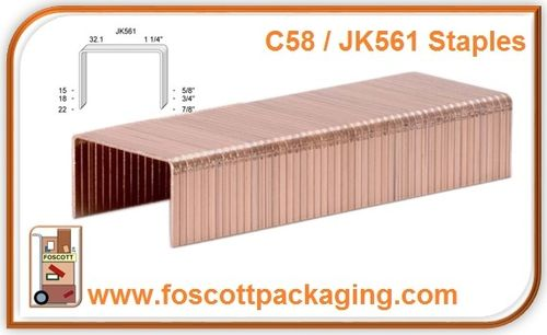 JK561 KIHLBERG COPPER STAPLES 32/15