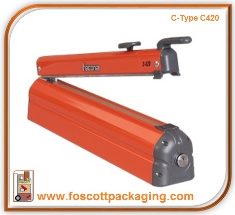 Hacona C420 Heat Sealer With Cutter