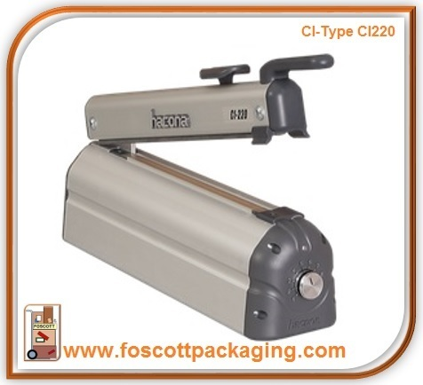 Hacona Ci220 Heat Sealer With Cutter