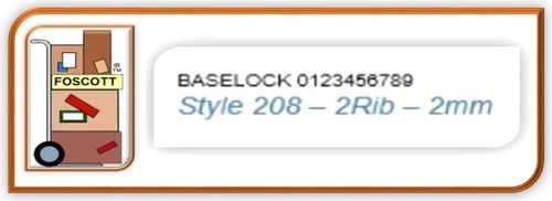 A208 Baselock Rubber Type  A Set