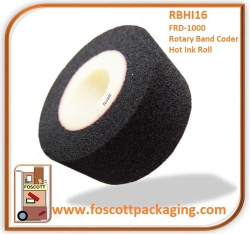Hot Ink Rolls - Rotary Band Heat Sealer - Coder
