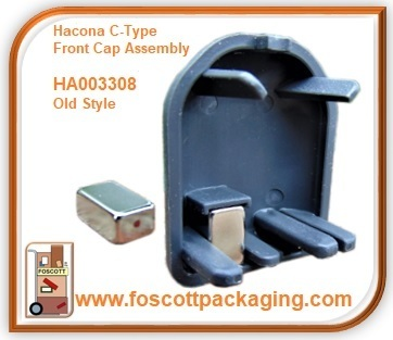 HA003308 Hacona® C-Type Front Cap with Magnet