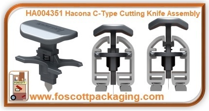 HA004351 Hacona® C-Type Cutting Knife Assembly