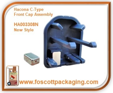 HA003308N  Hacona® C-Type Front Cap with Magnet New Style