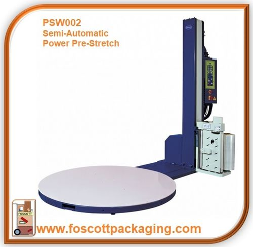 PSW002 Optimax® Power Pre-stretch Pallet Wrapping Turntable