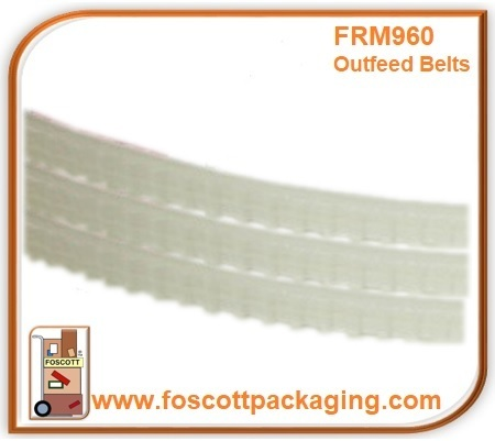 FRM960 Outfeed Belts Rotary Band Sealer