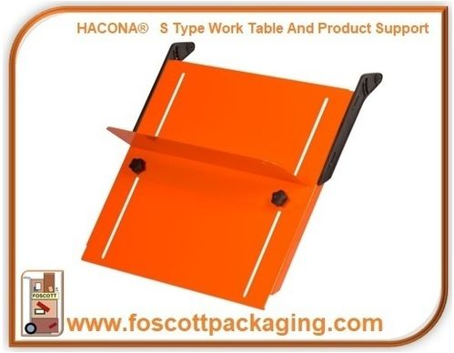 HACONA® S Type 620mm Work Table and Product Support