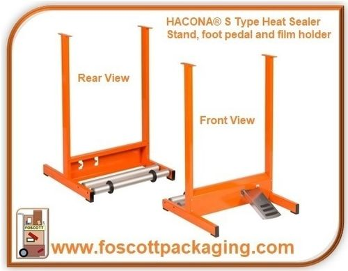 HACONA® 820mm  Stand, foot pedal & film holder