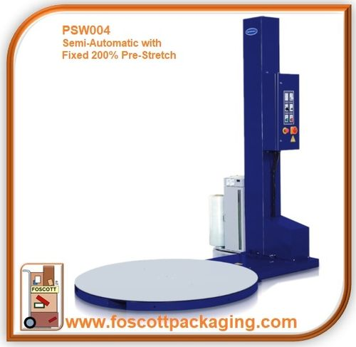 PSW004  Optimax® Semi-Automatic Pallet Wrapping Turntable With Fixed 200% Pre-Stretch