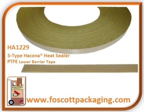 HA1229  PTFE Tape for Hacona® S-TYPE Heat Sealers