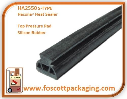 HA2550  For Hacona® S-TYPE Heat Sealers  Top Pressure Pad